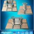 Télécharger fichier STL Modular Space Tiles (jeu supplémentaire 1 pour votre table) [Kickstarterproject], Nemoriko