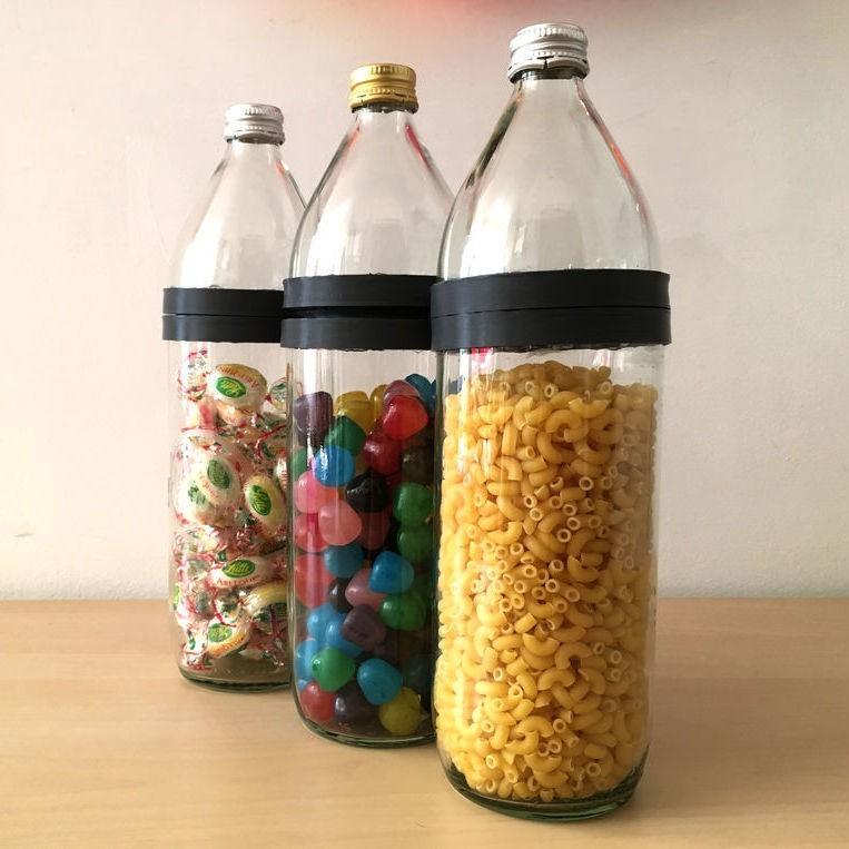 ezgif.com-crop (2).jpg Download free STL file Jars from bottles • 3D print design, Matlek