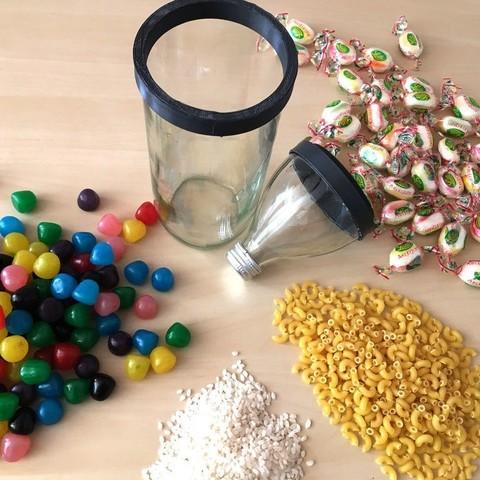 ezgif.com-crop (1).jpg Download free STL file Jars from bottles • 3D print design, Matlek