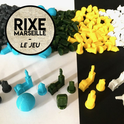 Download free 3D printing models Pawns - Rixe Marseille, Matlek