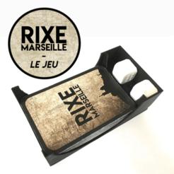 Descargar archivos 3D gratis Portatarjetas y dados - Rixe Marseille, Matlek