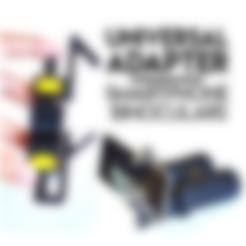 All.stl Download free STL file Universal Adapter Smartphone-Binoculars • 3D printer design, Matlek