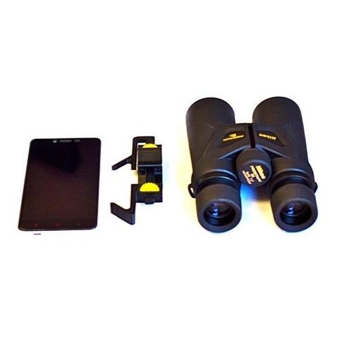 All3.jpg Download free STL file Universal Adapter Smartphone-Binoculars • 3D printer design, Matlek