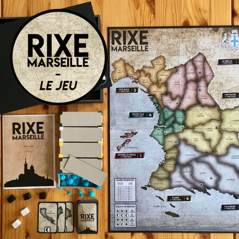 Download free 3D printer files Rixe Marseille - All parts, Matlek