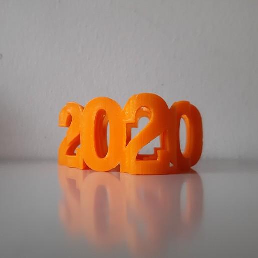 20201122_130956.jpg Download free STL file Text Flip - 2020 Poo • 3D printing design, MrP023