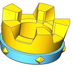 Télécharger fichier STL gratuit La couronne du roi • Plan pour imprimante 3D, aamn-4132-molina