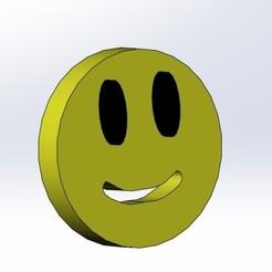 Smile_1.jpg Télécharger fichier STL gratuit Bouton Sourire • Modèle pour impression 3D, aamn-4132-molina