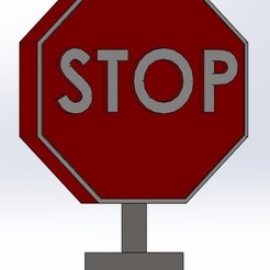 signal_stop.jpg Download free STL file stop sign • Object to 3D print, aamn-4132-molina