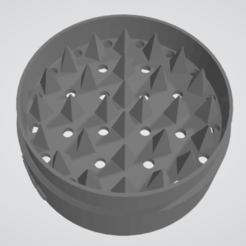 Free 3D printer files grinder thresher scraper or grinder, TMDs