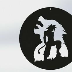 render 2.JPG Télécharger fichier STL Goku ozaru photo • Modèle pour imprimante 3D, TMDs