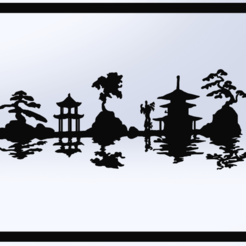 Download free 3D printing models Japanese Landscape Chart, TMDs