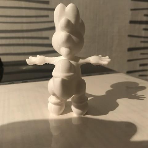 image1 (1).jpeg Download OBJ file YOSHI • 3D printer object, florianlefait62