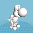 Capture d'écran 2018-09-03 à 00.18.37.png Download OBJ file YOSHI • 3D printer object, florianlefait62