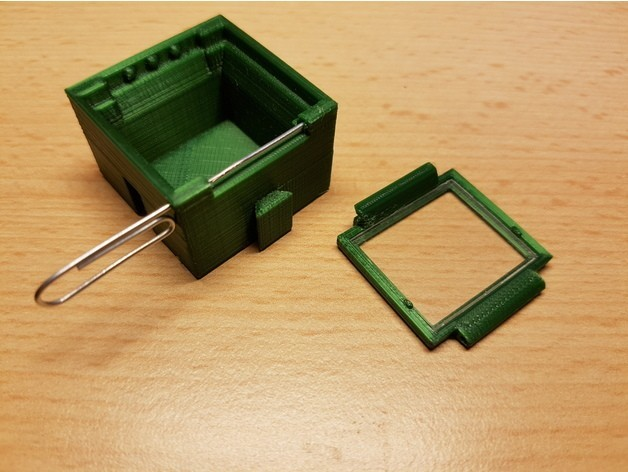 147bc297d3e196e6b350a78aeb6bf47a_preview_featured.jpg Download free STL file SMD SMT Connectable Container Box with plastic window • 3D printing model, ICTAvatar