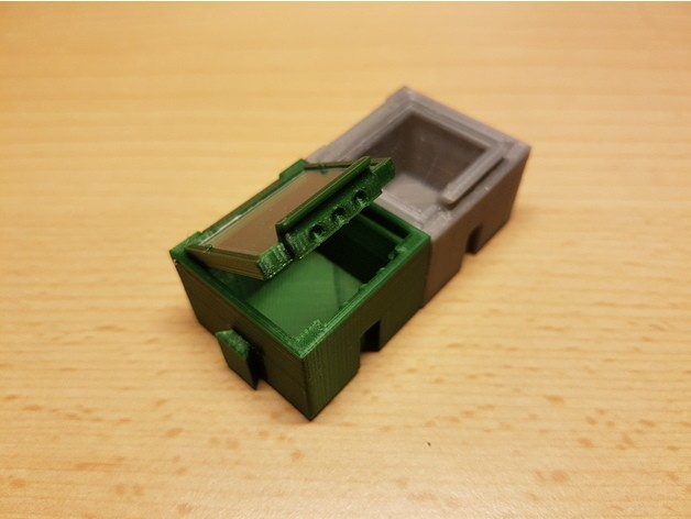 3b67b8447fcc8a2cbb887551e13937dc_preview_featured.jpg Download free STL file SMD SMT Connectable Container Box with plastic window • 3D printing model, ICTAvatar