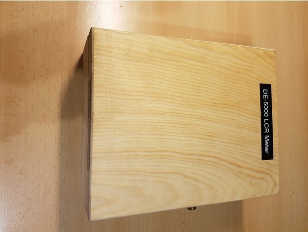 f3ccdd27d2000e3f9255a7e3e2c48800_preview_featured.jpg Download free STL file Wooden box modification for Multimeter • 3D printable object, ICTAvatar