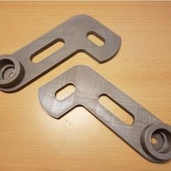 Modèle 3D gratuit Porte-serviettes en papier ajustable (largeur ajustable) à l'aide d'un tube de garde-robe., ICTAvatar