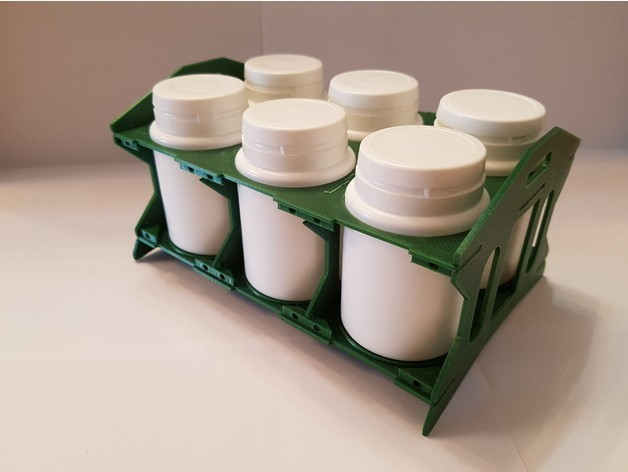 30e62fddc14c05988b44e7c02788e187_preview_featured.jpg Download free STL file Bottle / chewing gum rack storage stand • Object to 3D print, ICTAvatar