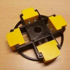 Télécharger fichier imprimante 3D gratuit Noyau de distributeur de ruban réglable, ICTAvatar
