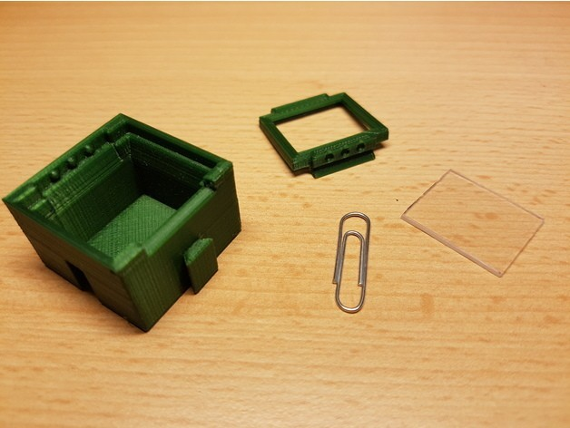 f6db05299c813f5ed7bb5f32b9eff304_preview_featured.jpg Download free STL file SMD SMT Connectable Container Box with plastic window • 3D printing model, ICTAvatar