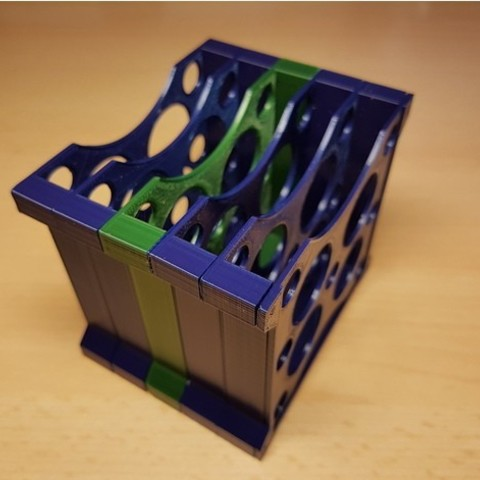 "4d28a080513aa675e7de4965a0a8c922_preview_featured.jpg Download free STL file Modular multiple HDD 2.5""/ SSD rack tray holder stand container • Model to 3D print, ICTAvatar"