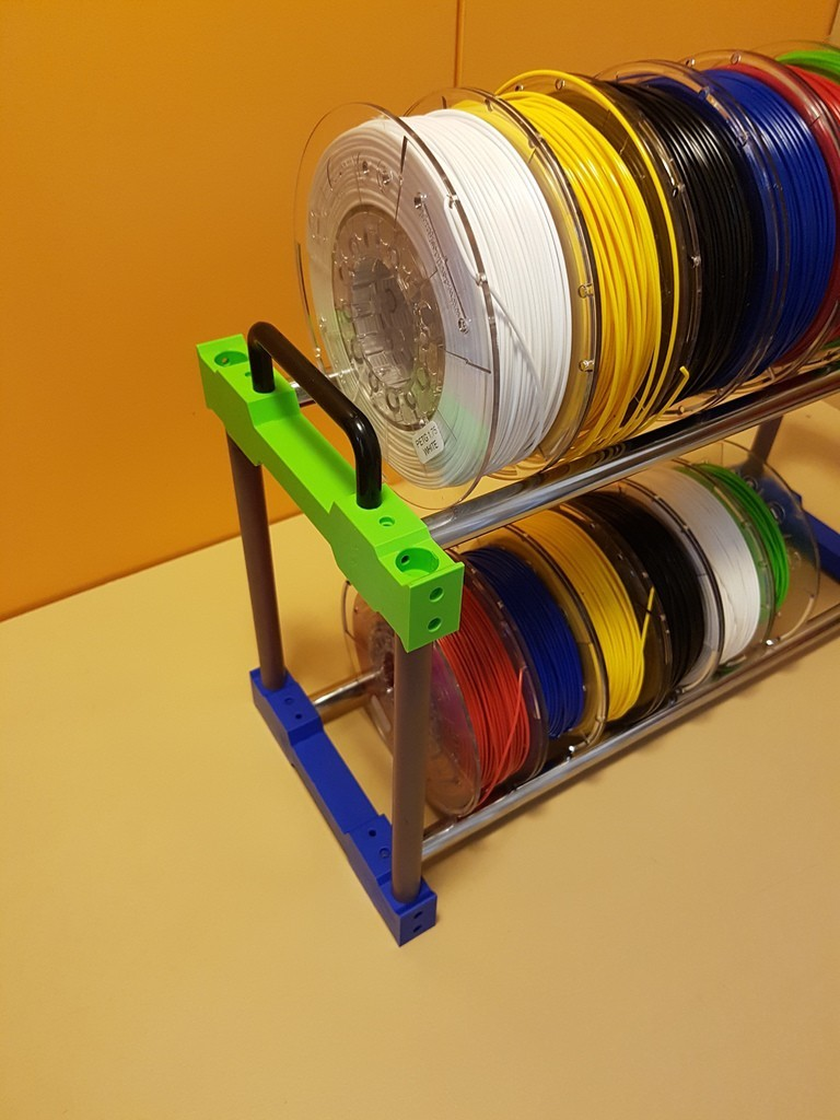 ebeb3c0170004211c7e1c44b2de79118_display_large.jpg Download free STL file Filament holder storage • 3D print object, ICTAvatar