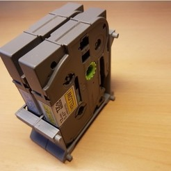 STL gratuit Porte-bande modulaire P-Touch TZe 6,9,12,12,18,18,18,24,36 mm, ICTAvatar