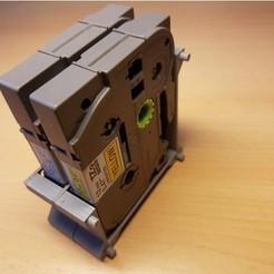Objeto 3D P-Touch modular TZe Soporte de cinta/cassette Organizador rack 6,9,12,18,24,36 mm gratis, ICTAvatar