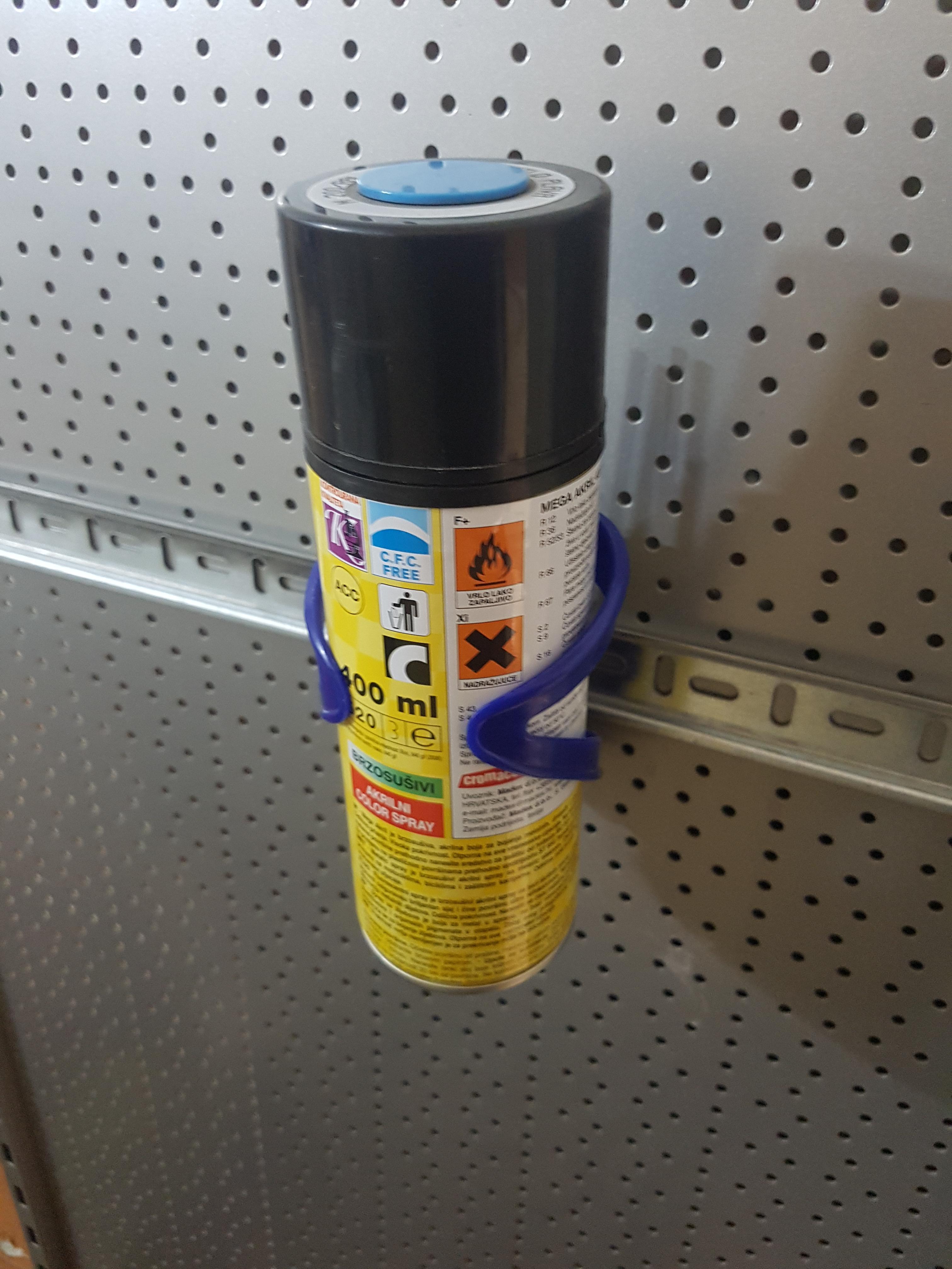 DIN1.jpg Download free STL file DIN Rail to Spray Holder (a bike bottle holder) • Model to 3D print, ICTAvatar