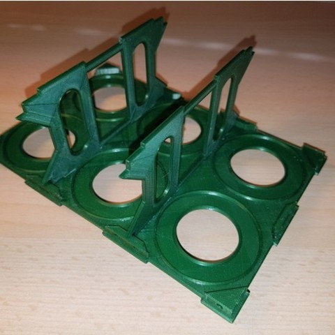 cdc679bebbe282e170ab6fe0dca8445e_preview_featured.jpg Download free STL file Bottle / chewing gum rack storage stand • Object to 3D print, ICTAvatar