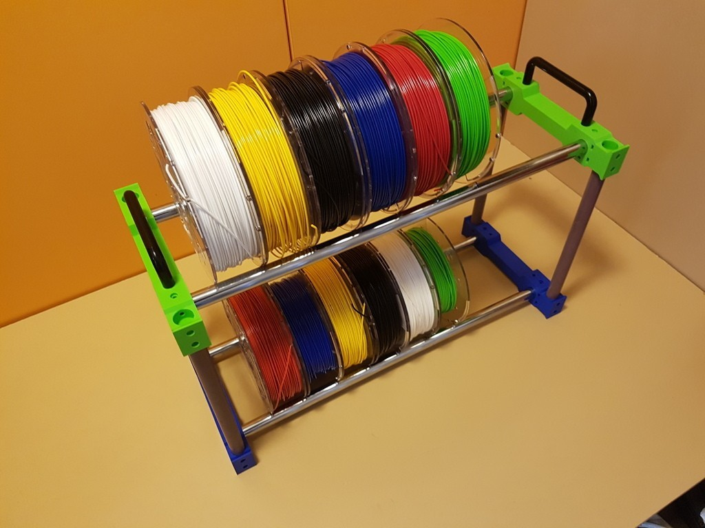 79ec99cc074b36d35ae29a5385f93d83_display_large.jpg Download free STL file Filament holder storage • 3D print object, ICTAvatar