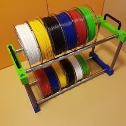 Free STL files Filament holder storage, ICTAvatar