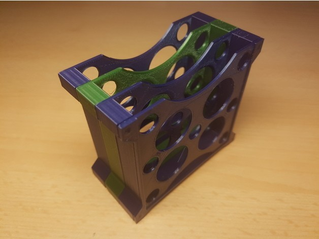 "c7588853d975607658e9c3a1aa5a0dc0_preview_featured.jpg Download free STL file Modular multiple HDD 2.5""/ SSD rack tray holder stand container • Model to 3D print, ICTAvatar"