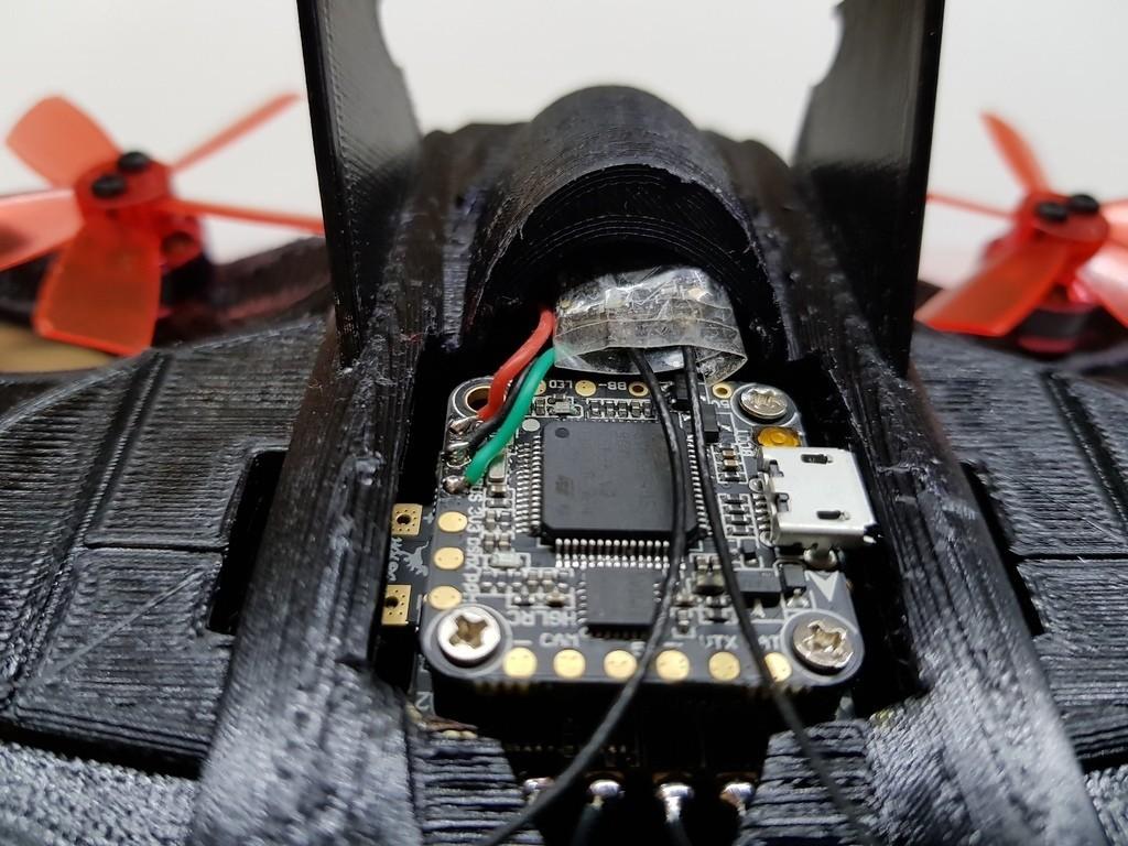 4fa74e333bbc5c8831c237cf858b6861_display_large.jpg Télécharger fichier STL gratuit Avion à chauve-souris RC Quadcopter • Plan à imprimer en 3D, shawnrchq