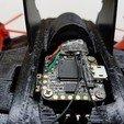 Download free 3D printing templates RC Bat Plane Quadcopter, shawnrchq
