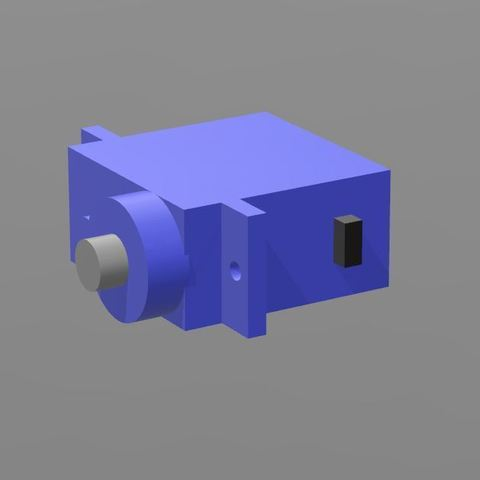 Download free 3D printer model CYS-S0009A Servo, shawnrchq