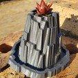 Fichier impression 3D gratuit Heroscape Rock Planter, shawnrchq