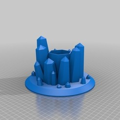 Download free 3D printing files Crystal Planter, shawnrchq