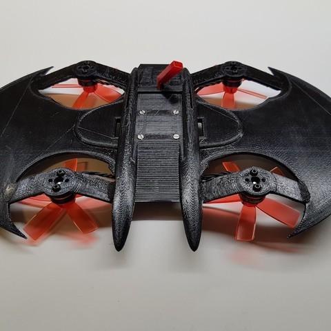 6e6f424ddf217b2bc816b40b04976690_display_large.jpg Télécharger fichier STL gratuit Avion à chauve-souris RC Quadcopter • Plan à imprimer en 3D, shawnrchq