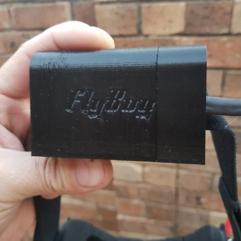 Download free STL file Simple FPV Goggles Battery Case, shawnrchq