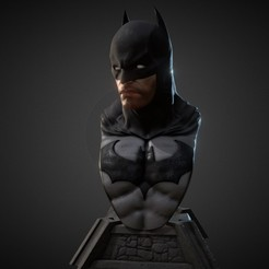 Download 3D printing designs batman bust, eragonking85