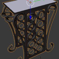 3D printer models End Table, midg3th8er