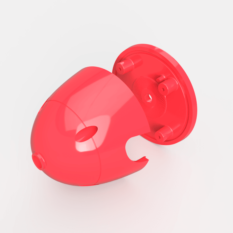 perspective1.png Download STL file Messerschmitt Bf-109 Spinner • 3D printable template, BalihaiDesigns