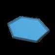 Download free 3D printer templates Hexagon Coaster, drbts33