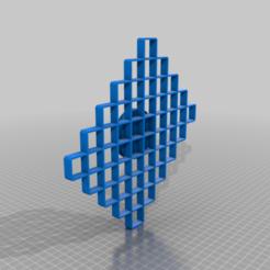 Télécharger fichier impression 3D gratuit MODÈLE DE FONDANT EN LOSANGE (GÂTEAUX), BIORODO