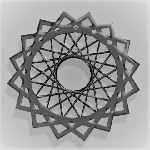 Picture Frame v3.png Download free STL file Spirograph Picture Frame • 3D printing model, ModelMagic