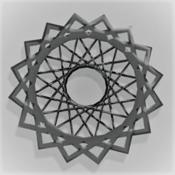 Free Spirograph Picture Frame 3D printer file, ModelMagic