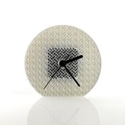 Free 3D printer model Gyroid Clock, FrancescoRodighiero