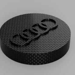 caches1.png Download STL file Shock absorber head cover Audi TT MK1 • 3D print design, henrysebastien84
