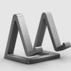 "bild_2.png Download free STL file ""Freischwinger"" - beautiful phone stand • 3D printable object, sotenck"